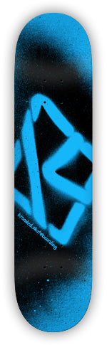 KROOKED TEAM SPRAY BLUE PP DECK 8.50 - 1LT2F