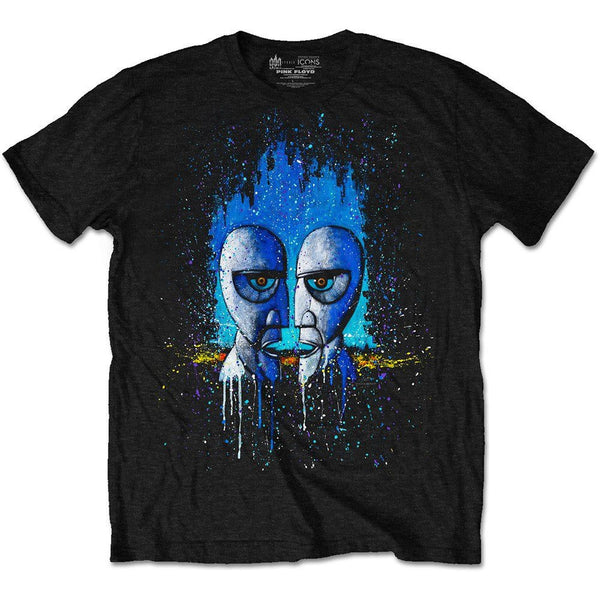 LICESENED T-SHIRT - PINK FLOYD MEN'S SPECIAL EDITION TEE: DIVISION BELL DRIP