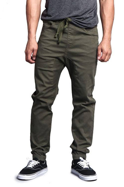 Victorious Drop Crotch Men's Jogger Pant - 1LT2F