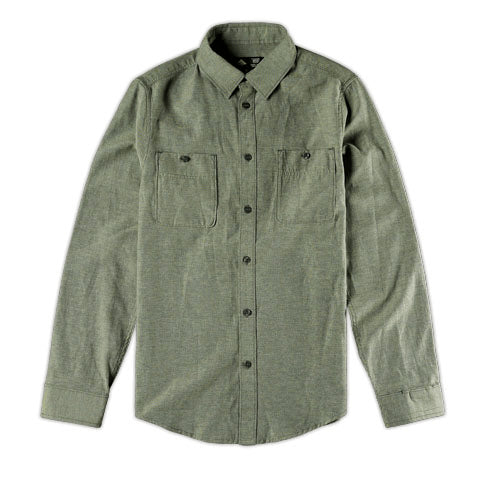Emerica Reup Woven Long Sleeve Button Down Shirt - 1LT2F