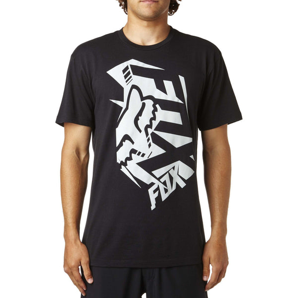 TSHIRT - FOX SHORT SLEEVE TEE SALUTE BLACK
