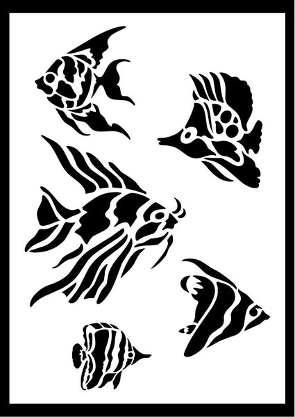 Sea Life Stencils Plus Many Other Designs Laser Craft