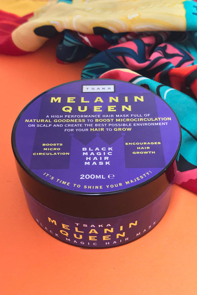 Melanin Queen Black Magic Hair Mask