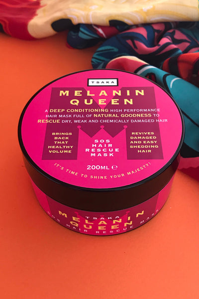 Melanin Queen SOS Hair Rescue Mask