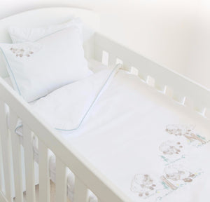 Counting Sheep Egyptian Cotton Baby Duvet Cover Set side
