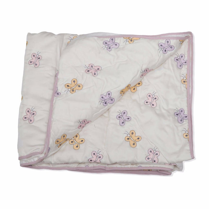 Butterflies Cotton Quilt/Playmat