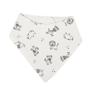 little acorn | African Safari Waterproof Bandana Dribble Bib
