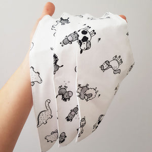 Waterproof Farmyard Bandana Dribble Bib