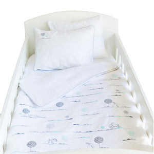 Bunny Hop Cot Duvet Set (3 week lead time) - Babes & Kids Cot Baby Bedding