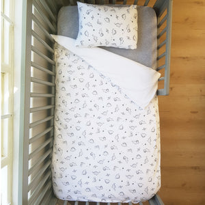 little acorn | Dinosaur Cot Duvet Set - Babes & Kids Cot Baby Bedding