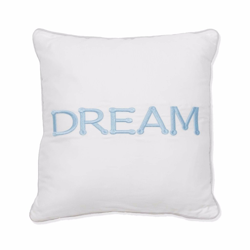 dream scatter cushion blue babes and kids