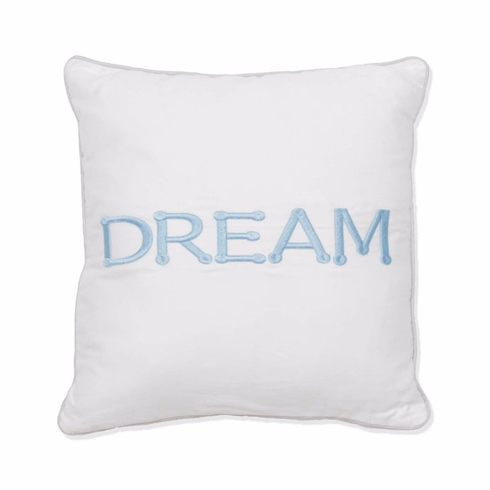 Dream Scatter Cushion (blue) - Babes & Kids Cot Baby Bedding