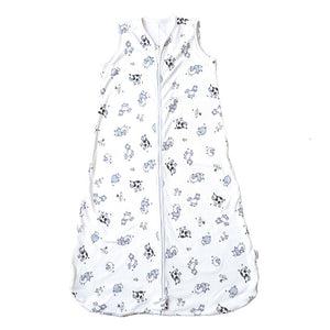 100% Cotton Farmyard Summer Baby Sleeping Bag - Babes & Kids Cot Baby Bedding