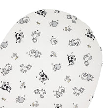 little acorn | Moses Basket Farmyard Cot Fitted Sheet - Babes & Kids Cot Baby Bedding