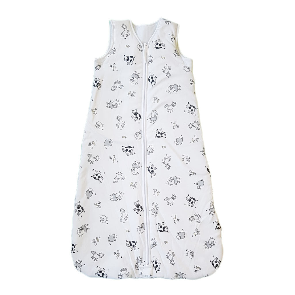 Cotton Farmyard Winter Baby Sleeping Bag