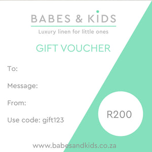 Babes and Kids Gift Voucher