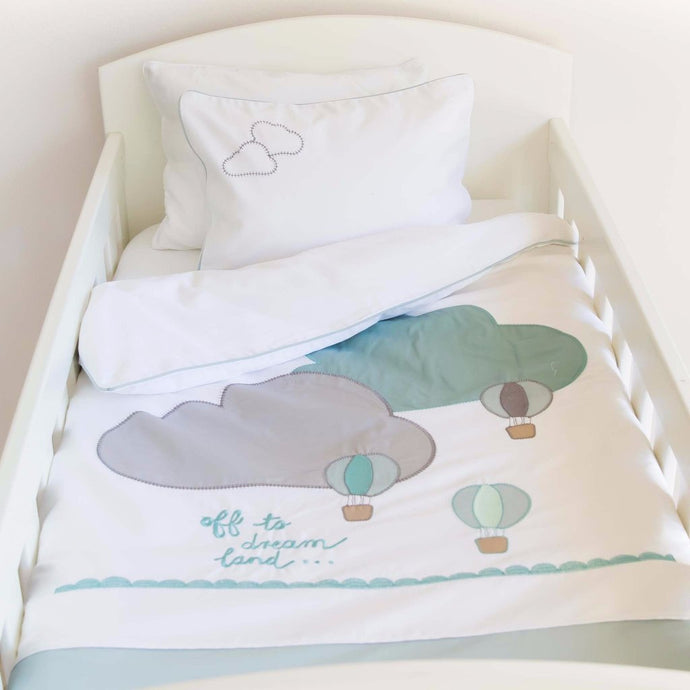 Off to Dreamland Egyptian Cotton Duvet Cover Set