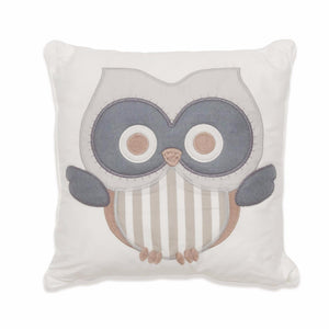 Baby Owl Scatter Cushion (neutral)