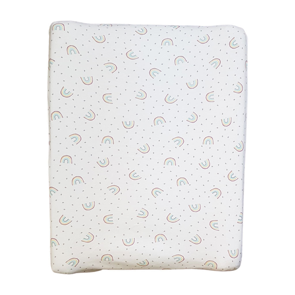 little acorn | Rainbows Changing Mat Cover