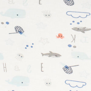 little acorn | Under the Sea Cot Fitted Sheet - Babes & Kids Cot Baby Bedding