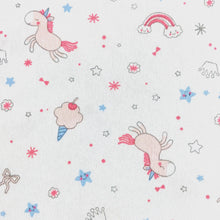 little acorn | Unicorn Wishes Cot Fitted Sheet - Babes & Kids Cot Baby Bedding
