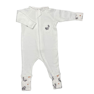 little acorn | *Limited edition* White Woodland Animals Zippy Grow