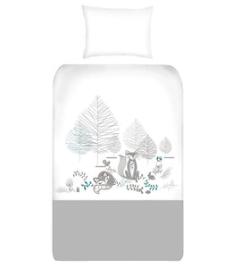 Woodlands Cot Duvet Cover Set