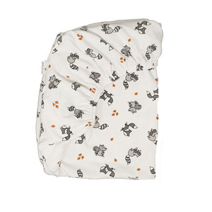 little acorn | Moses Basket Woodlands Cot Fitted Sheet