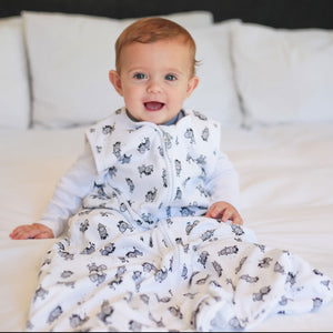 Zebra Summer Baby Sleeping Bags - Babes & Kids Baby Bedding