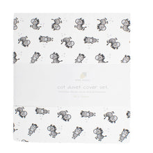 little acorn | Zany Zebra Cot Duvet Cover Set