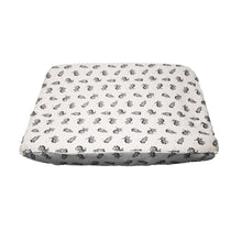 little acorn | Zany Zebra Changing Mat Cover