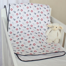 Sail Away Cotton Quilt/Playmat in cot