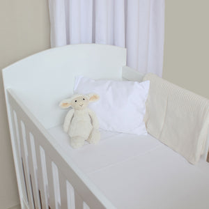 Cot Waterproof Mattress Protector (66x132cm) in cot