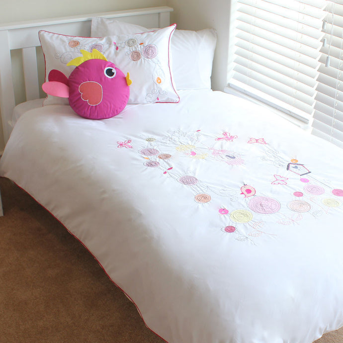 Butterfly Posy Kids Duvet Cover Set