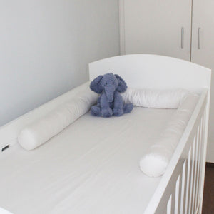 White Cot Bumper Cover
