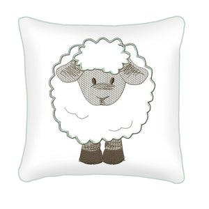Counting Sheep Scatter Cushion - Babes & Kids Cot Baby Bedding