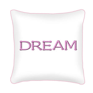 Dream Scatter Cushion (pink) design