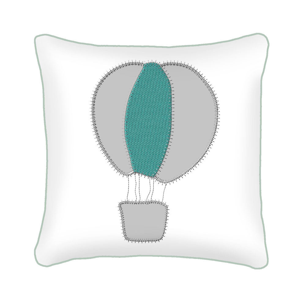 Hot Air Balloon Scatter Cushion – Babes and Kids