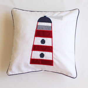 Lighthouse Scatter Cushion - Babes & Kids Cot Baby Bedding
