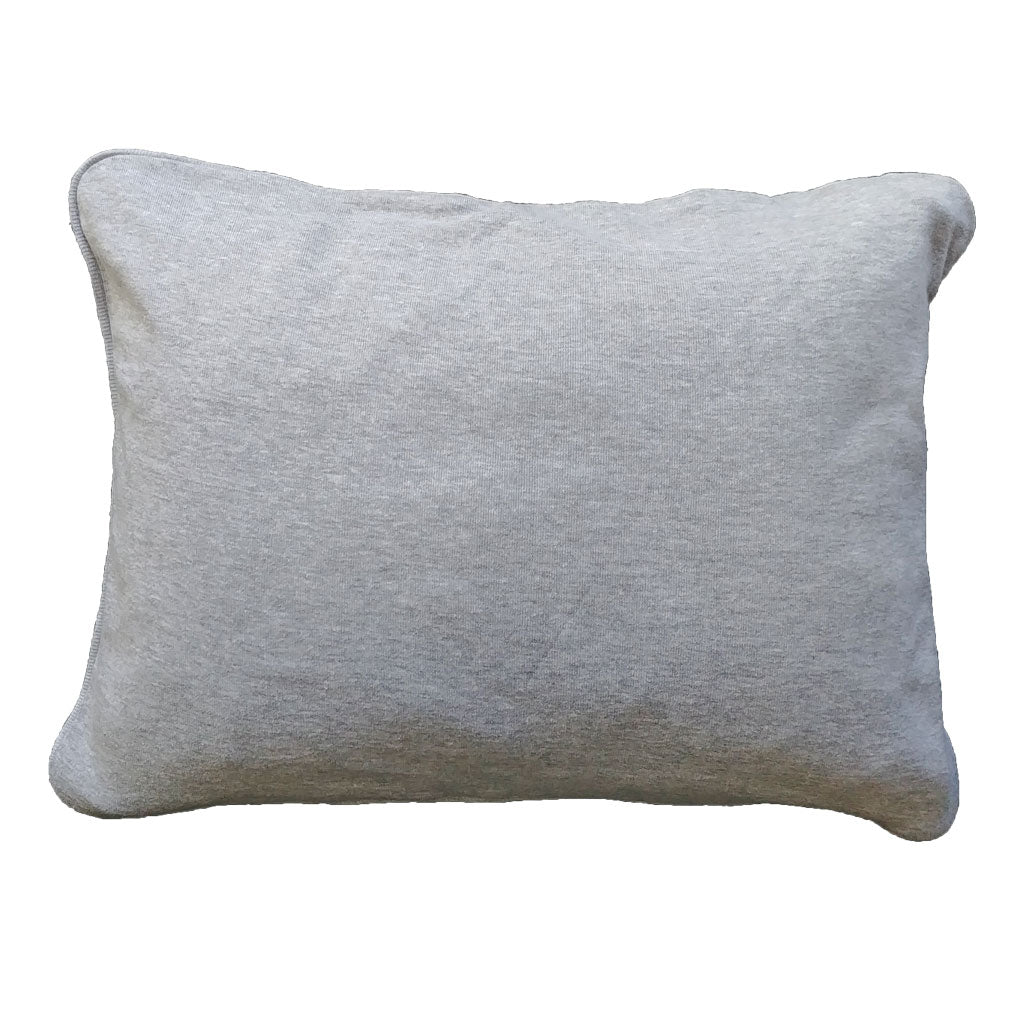 little acorn | grey melange pillowcase