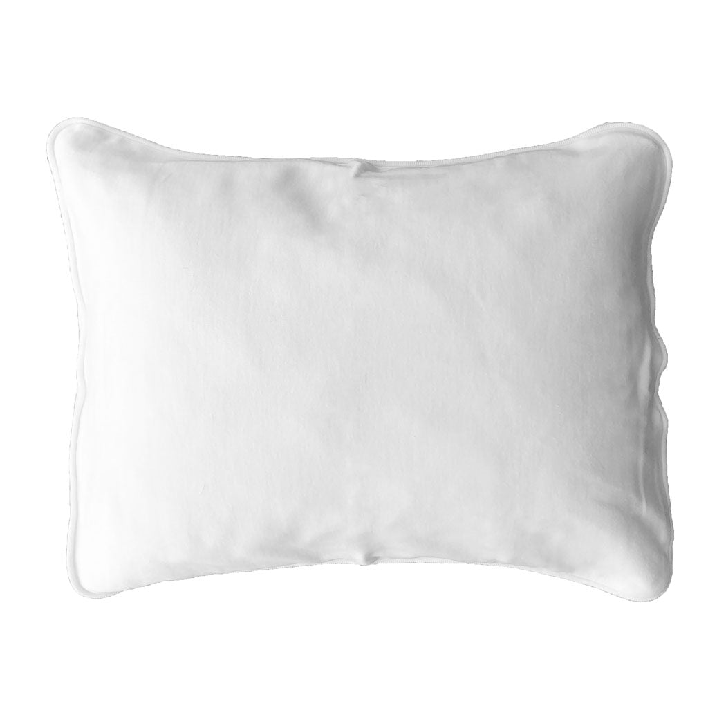 little acorn | white pillowcase - Babes & Kids Cot Baby Bedding