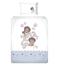 Mermaids Kids Duvet Cover Set design