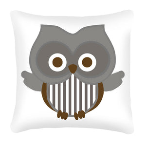 Baby Owl Scatter Cushion (neutral) design
