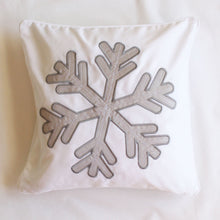 Snowflake Scatter Cushion