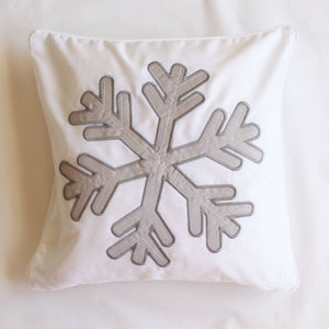 Snowflake Scatter Cushion - Babes & Kids Cot Baby Bedding