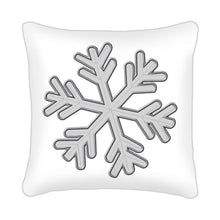 Snowflake Scatter Cushion design