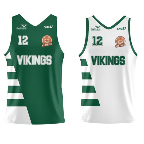 Cramlington Vikings Reversible Jersey