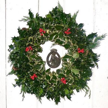 Wholesale Decorated Holly Wreaths