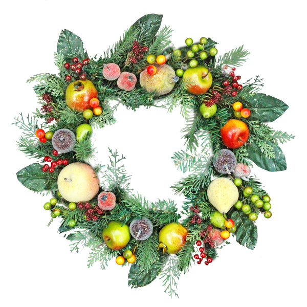 Gisela Graham Fruit and Berries Wreath