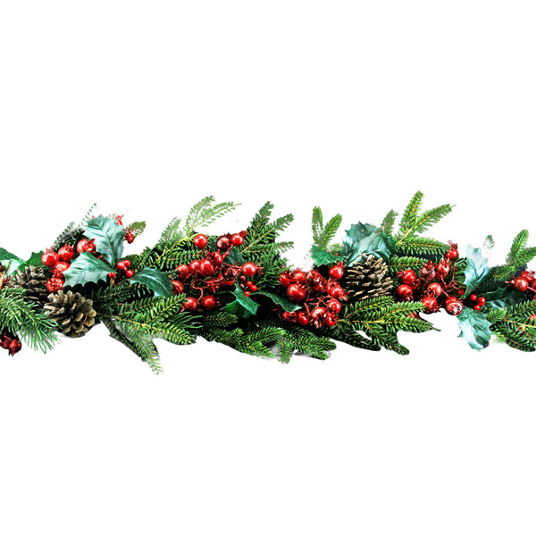 Gisela Graham Fir & Fruit Garland